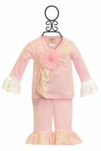 Haute Baby Pink Outfit Chic Petit