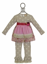 Haute Baby Polka Dot Outfit Tres Jolie