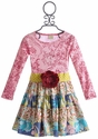 Haute Baby Raspberry Party Dress for Little Girls
