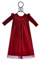 Haute Baby Ruby Red Holiday Gown for Baby