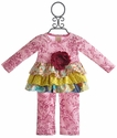 Haute Baby Ruffle Tunic Set for Infant Girls