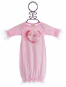 Haute Baby Sassy Hearts Baby Gown