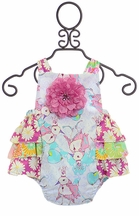 Haute Baby Simply Sweet Sunsuit (Size 24Mos)