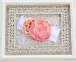 Haute Baby Soft Flower Headband