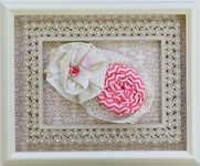 Haute Baby Soft Lace Headband with Flowers