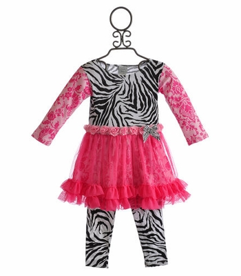 Haute Baby Sweet 'N Sassy Little Girls Tutu Dress
