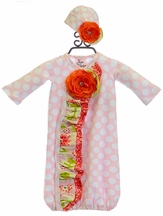 Haute Baby Take me Home Gown Spring Zing