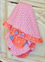 Haute Baby Tangerine Zing Baby Blanket for Girls