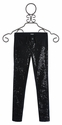Hudson Jeans Black Knit Pants for Tweens with Sequins