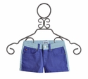Hudson Jeans Girls Blue Shorts in Province