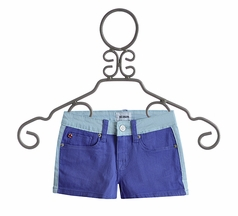 Hudson Jeans Girls Blue Shorts in Province (7,12,16)