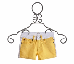 Hudson Jeans Yellow Shorts for Tweens (Size 10)