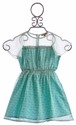 I Love Gorgeous Ocean Blue Girls Dress