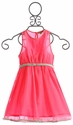 I Love Gorgeous Pink July Dress for Girls
