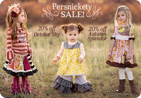 Persnickety Clothing Sale