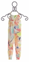Imoga Watercolor Jumpsuit for Little Girls