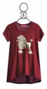 Isaac Mizrahi Short Sleeve Tween Tee with Cute Poodle