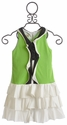 Isobella and Chloe Apple Green Tween Dress