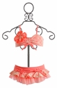 Isobella and Chloe Bikini in Coral Sunkissed