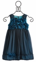 Isobella and Chloe Blue Nile Chiffon Dress for Little Girls