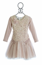 Isobella and Chloe Couture Dress for Girls in Lace (2T & 5)