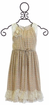 Isobella and Chloe Dress for Girls Dainty Daisy