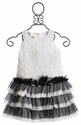 Isobella and Chloe Estelle Girls White Tutu Dress
