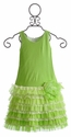 Isobella and Chloe Evergreen Girls Spring Dress