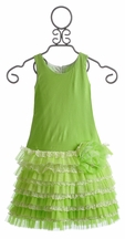 Isobella and Chloe Evergreen Girls Spring Dress (Size 10)