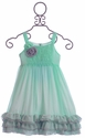 Isobella and Chloe Frilly Little Girls Dress