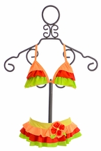 Isobella and Chloe Fun in the Sun Ruffle Bikini (Size 4)