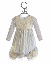 Isobella and Chloe Girls Dress Whimsical Wishes (3T & 8)