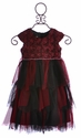 Isobella and Chloe Girls Empire Waist Dress for Holiday