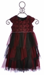 Isobella and Chloe Girls Empire Waist Dress for Holiday (4, 6, 6X)