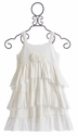 Isobella and Chloe Girls Ivory Dress (Size 10)