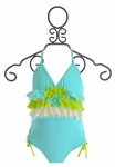 Isobella and Chloe Girls One Piece Swimsuit Keepin' Cool
