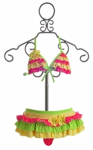 Isobella and Chloe Girls Ruffle Bikini (2T & 7)