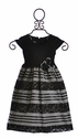 Isobella and Chloe Girls Special Occasion Dress in Black (12Mos, 2T & 4T)