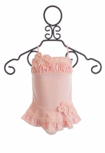 Isobella and Chloe Girls Swimwear Pretty in Pearls (Size 3Mos)