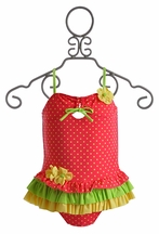 Isobella and Chloe Girls Tankini Starfruit (Size 2T)