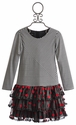 Isobella and Chloe Girls Tutu Dress Red Polka Dot