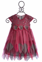 Isobella and Chloe Girls Twirl Dress in Bella Bow (Size 3T)