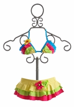 Isobella and Chloe Hana Cabana Bikini for Girls (Size 2T)