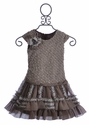 Isobella and Chloe Holiday Dress for Girls in Reese