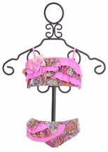 Isobella and Chloe Island Girl Bikini (2T,3T,4T)