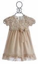 Isobella and Chloe Little Girls Chiffon Dress