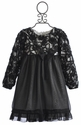 Isobella and Chloe Little Girls Holiday Dress Audrey Lace