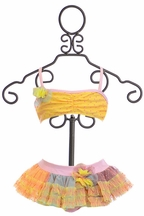 Isobella and Chloe Miss Sunshine Bikini for Girls (4,5,6X,10)