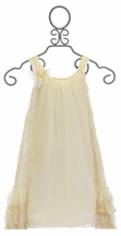 Isobella and Chloe Parisian Chic Ivory Dress