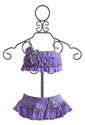 Isobella and Chloe Plum Passion Bikini in Lilac